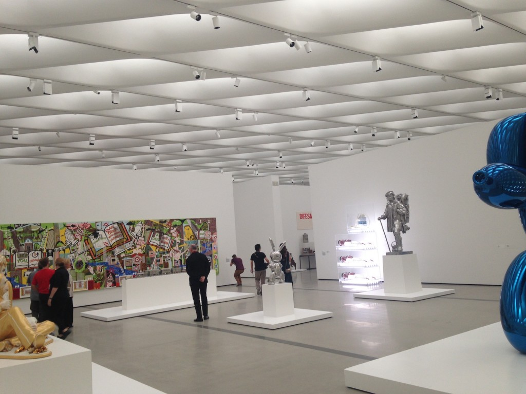 The Broad art space