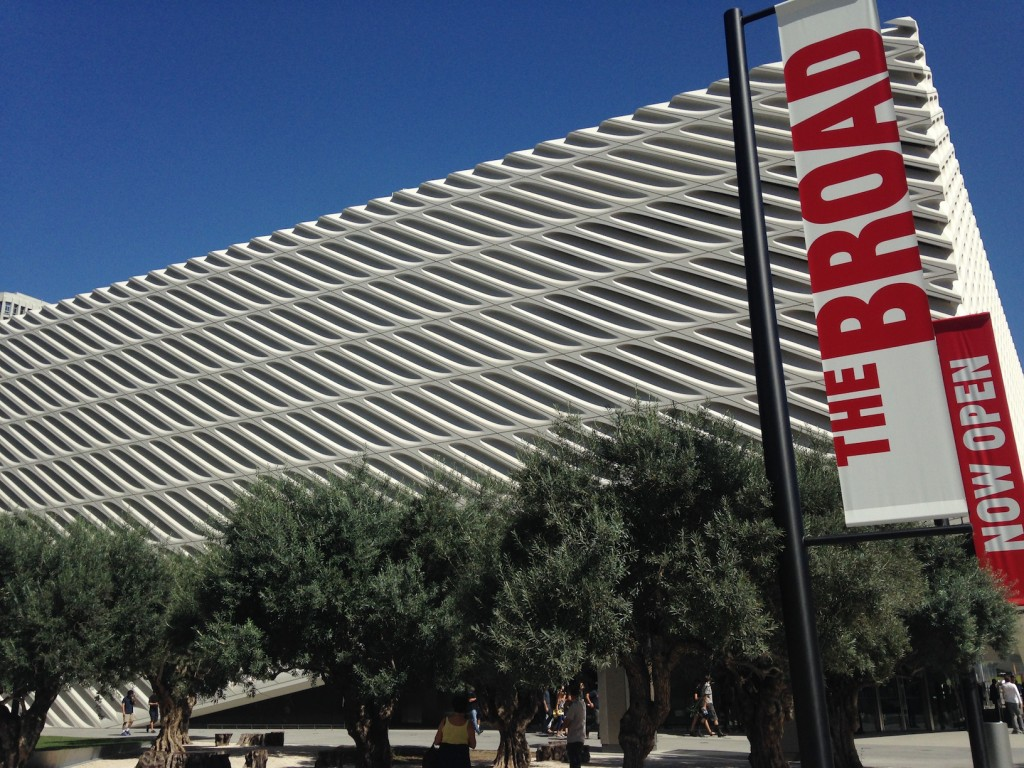 The Broad Museum Downtown LA