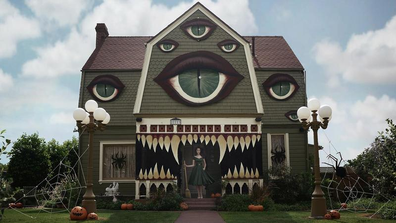 "Inspired by ""Monster House"" (courtesy Christine McConnell)"