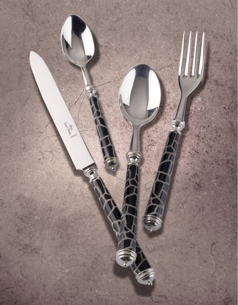 Alain Saint-Joanis Animal Silverplated Flatware