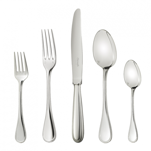 Perles Flatware by Christofle