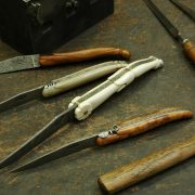 A selection of laguiole knives