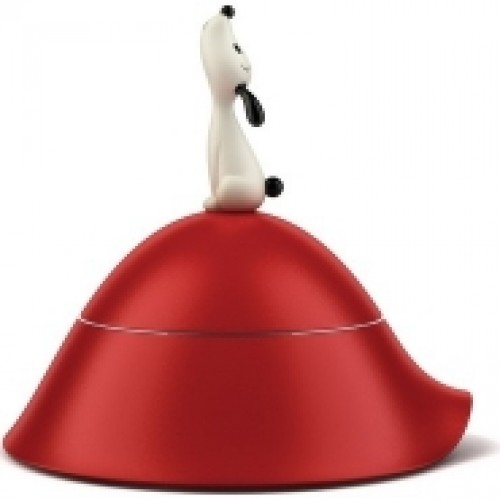 Lula' Dog Bowl in Red by Miriam Mirri