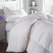 Naturally warm and lightweight, Downright comforters and pillows will ensure a good night's sleep.