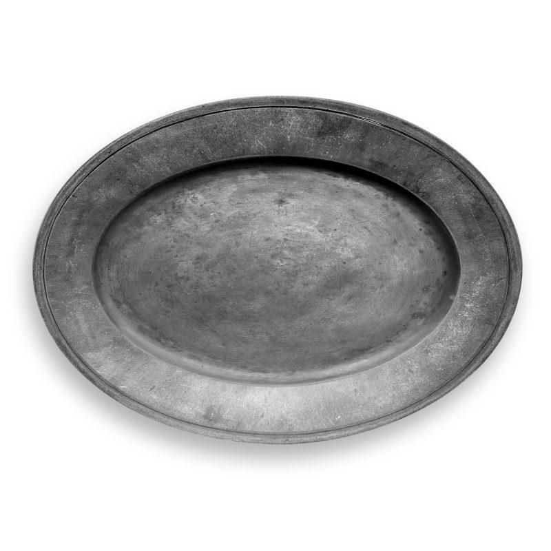 TarHong Pewter Melamine Oval Platter