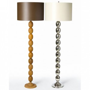 From garage to high end hotel barbara cosgroves sophisticated eggs floor lamp 103250 aloadofball Image collections