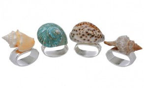 Featured: Seashell Napkin Rings