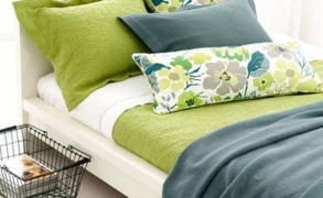 Add Color to Your Bedroom with Pine Cone Hill