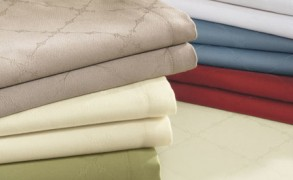 The Secret Behind Sferra's Easy-Care Tablecloths