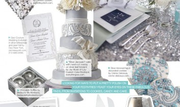 Gracious Style in Bridal Guide January 2013
