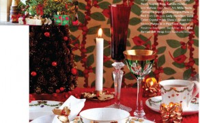 A Very Star Fluted Christmas with Victoria Magazine