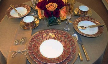 Table Setting of the Week: Trois Ors