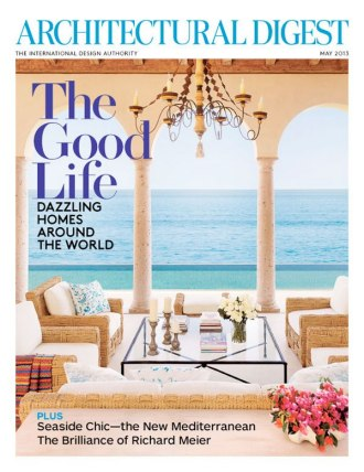 architectural digest cover image gallery - hcpr