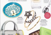 As Seen in InStyle Magazine: Waylande Gregory's Peacock Bowls