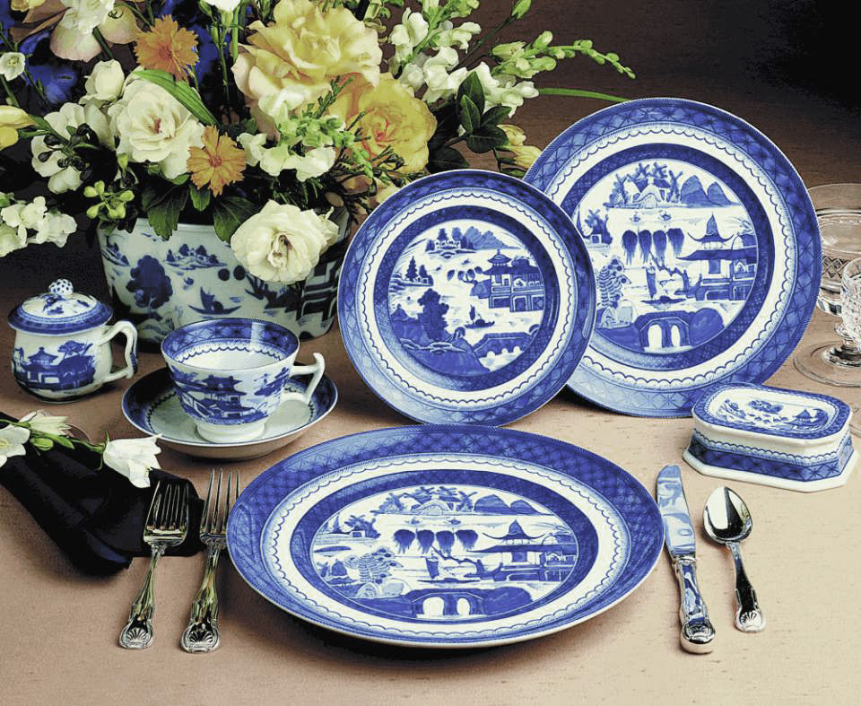 A symbol of strength and fortune in Chinese culture the Blue Dragon in this collection captures the movement and versatility of this dynamic and mysterious ... & Mottahedeh\u0027s Blue and White Dinnerware: Endless Possibilities ...