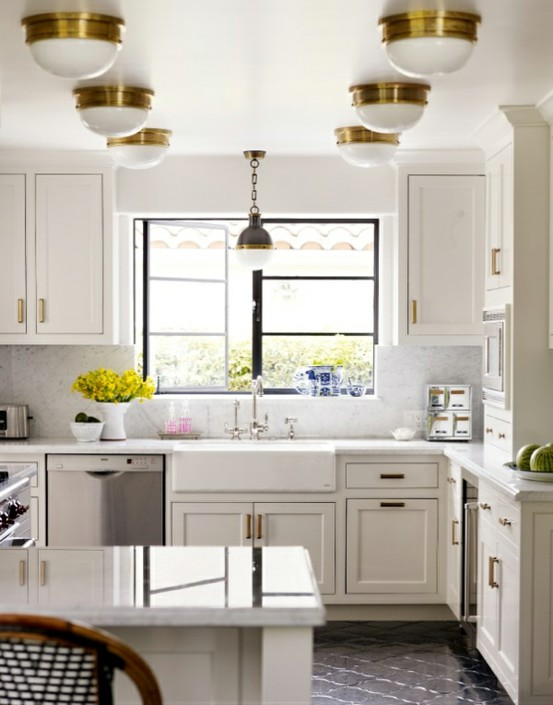 Guide To Choosing Lighting Gracious Style Blog - Large pendant lights over island