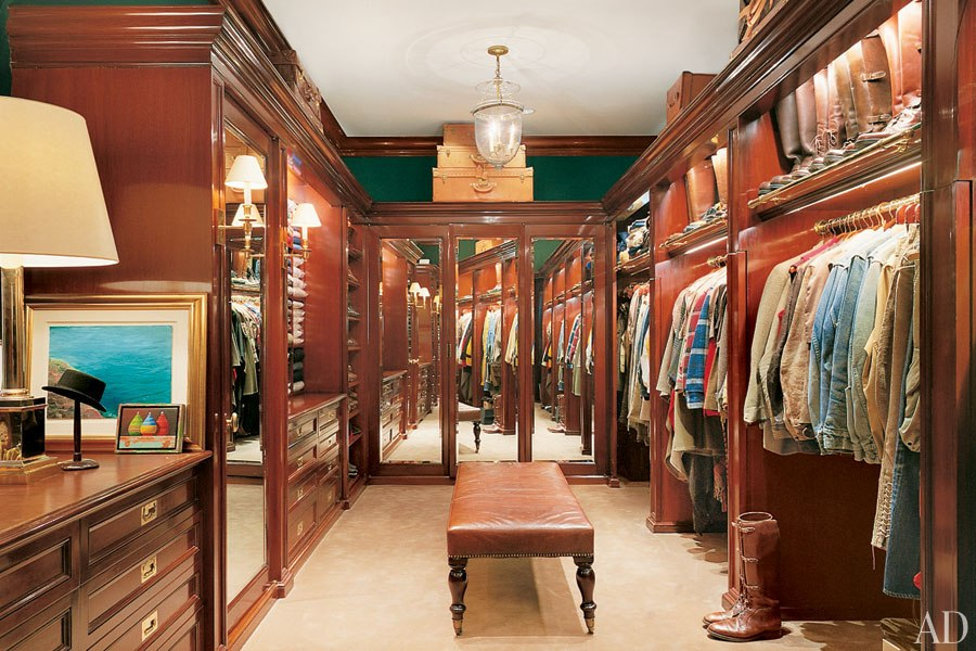 Ralph Lauren Courtesy Architectural Digest