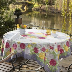 Giverny Grey Table Linens