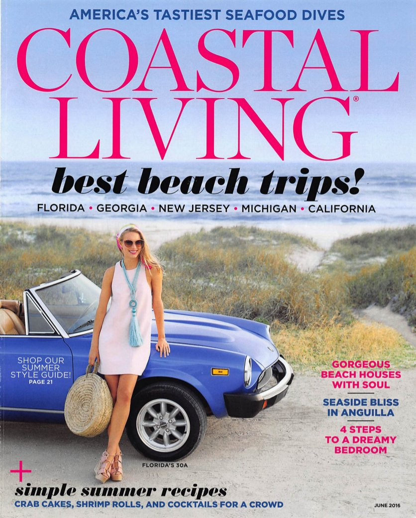 Coastal Living 201606 Cover