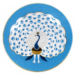 Aqua Fan Peacock Small Bullet Bowl | Gracious Style
