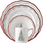 Filets Noel Dinnerware | Gracious Style