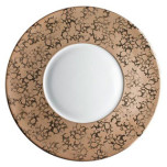 J.L. Coquet Horus Gold Charger Plate | Gracious Style