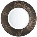 Jaune de Chrome Clematites Bronze Dinnerware | Gracious Style