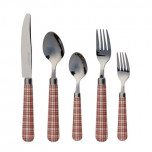 London Chic 5pc Set Chocolate Red