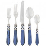 Aladdin Antique Blue Flatware | Gracious Style
