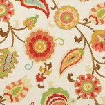Vietri Pink Modern Paisley Print Napkins | Gracious Style