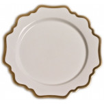 Antique White with Gold Dinnerware | Gracious Style