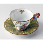 Giftware Butterfly Handle Cup & Saucer 4 oz