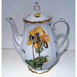 Anna's Favorites Poppy Flower Coffee Pot