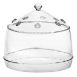 Isabella Lg Cake Dome Clear 11