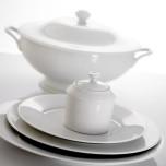 Recamier White Dinnerware