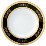 Orsay Black Dinnerware