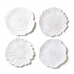 Vietri Bellezza Bloom White Dinnerware