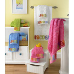 Bambini ABC Bath Towels