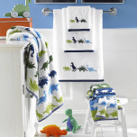 Bambini Dino Park Bath Towels