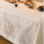 Beauregard Ivory Table Linens | Gracious Style