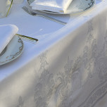 Beauregard White Table Linens