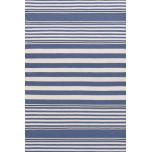 Beckham Stripe Denim Indoor/Outdoor Rug