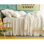 Candlewick Dove White Cotton Bedding
