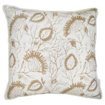 Abaco Sand Throw Pillow 20 in Sq
