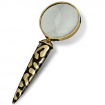 L'Objet Leopard Magnifying Glass 7 in