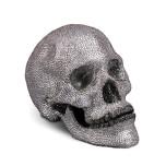 Skull Bijoux White + Grey + Black Crystals (Limited Edition) 8 x 4.5 x 5.5 in