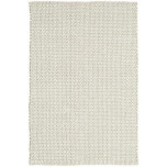Beatrice Grey Woven Cotton Rug