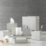 Delano Silver Bath Accessories