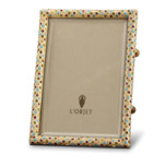 Pave Gold Multicolor Picture Frame | Gracious Style