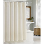 Hotel Shower Curtain Natural